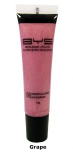 <b>BYS Megashine Lip Gloss - Grape</b>